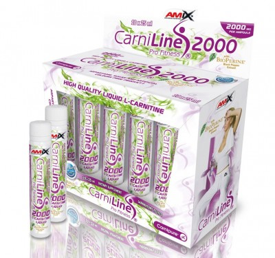 CARNILINE PRO FITNESS 2000 10 viales x 25 ml.