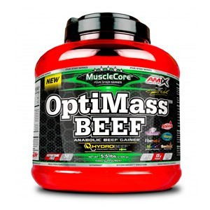 OPTIMASS BEEF GAINER 2,5 kg.