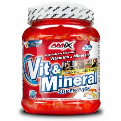 VIT & MINERALS 30 packs.