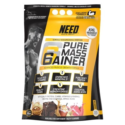 PURE MASS GAINER 4,54 kg.