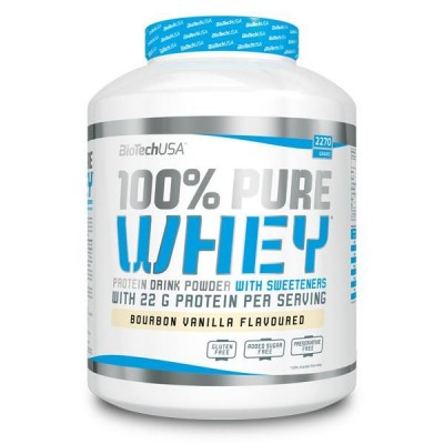 100% PURE WHEY 2,27 kg.