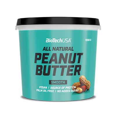 PEANUT BUTTER SMOOTH 1 kg.
