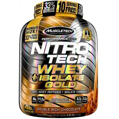 NITRO TECH WHEY ISOLATE GOLD 1,8 kg.